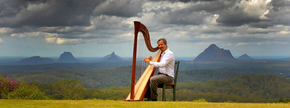 harpist sunshine coast